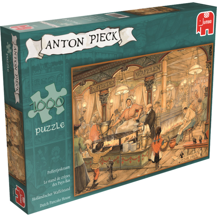 Anton Pieck - Poffertjeskraam puzzel