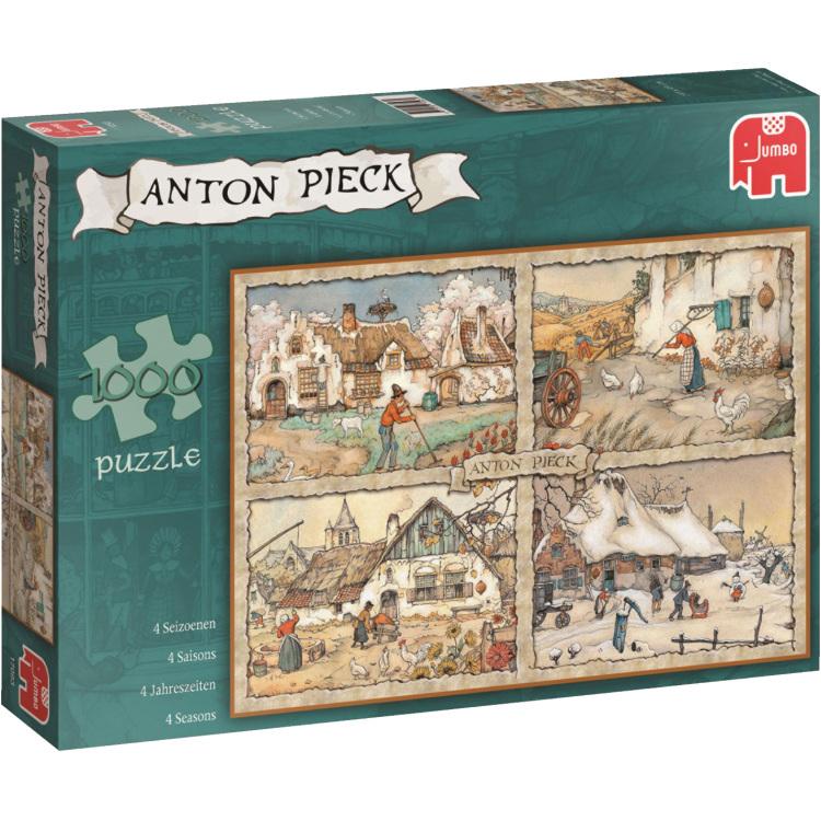 Jumbo Anton Pieck 4 Seizoenen Puzzel 1000 stuks