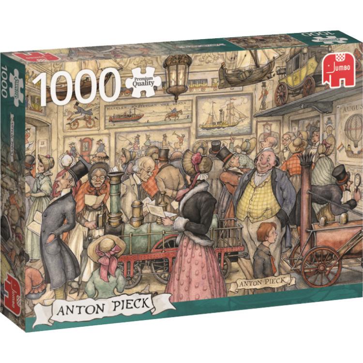 Anton Pieck - De Tentoonstelling puzzel