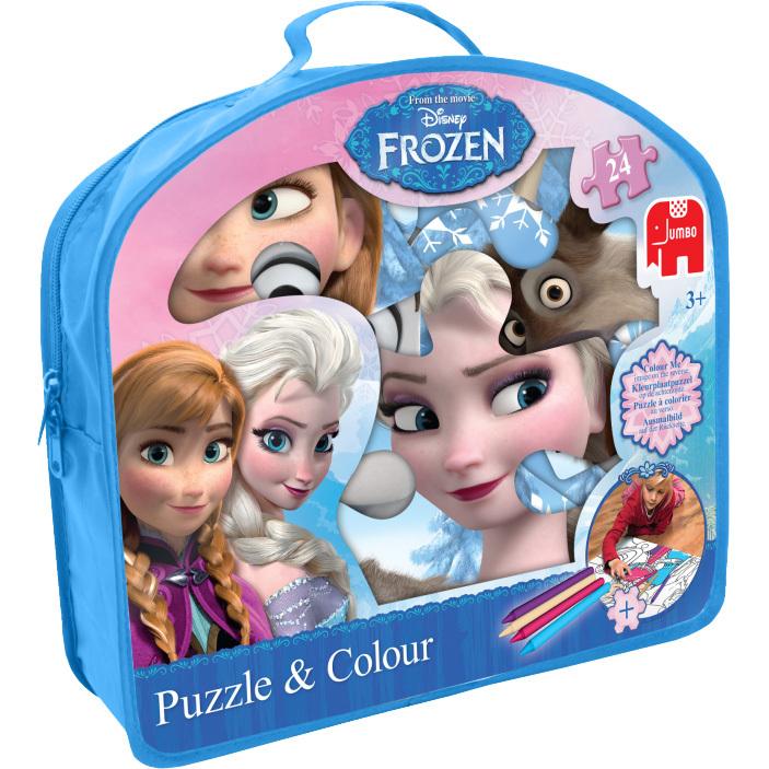 Disney Frozen Vloerpuzzel En Kleuren