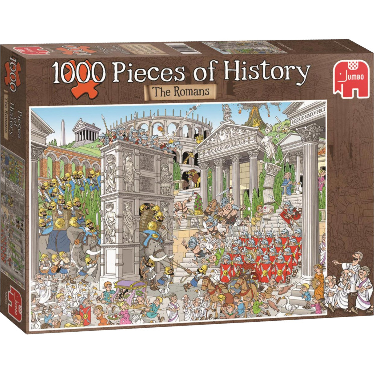 Pieces Of History: De Romeinen Puzzel