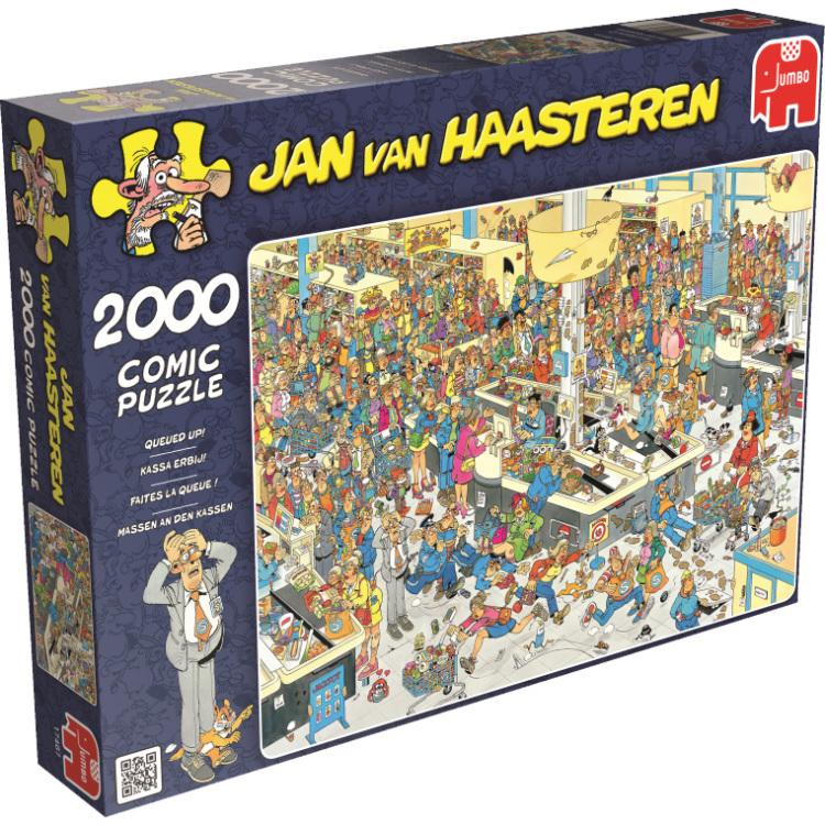 Jan Van Haasteren Puzzel 2000 Stuks Kassa Erbij