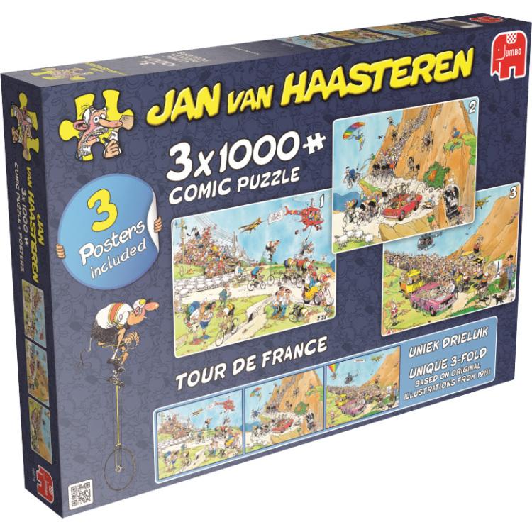 Jan Van Haasteren: Tour De France Puzzels