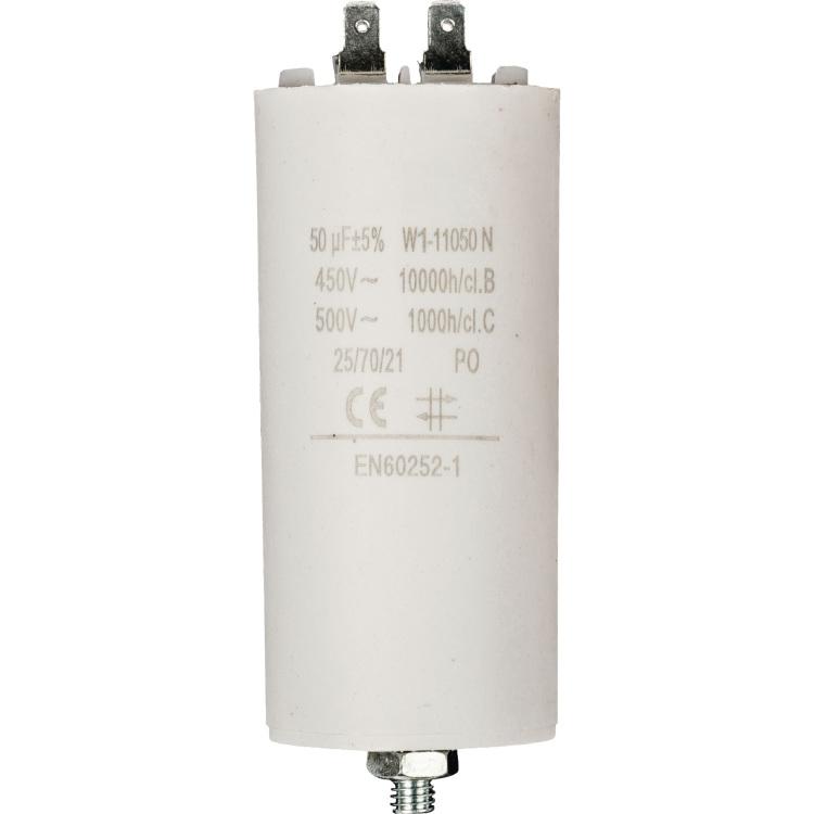 Productafbeelding voor 'Condensator 50.0uf/ 450 V + aarde'