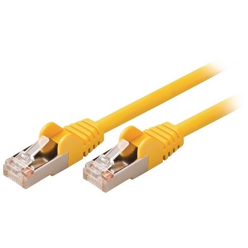 Valueline Netwerkkabel UTP CAT5e 1 meter Geel