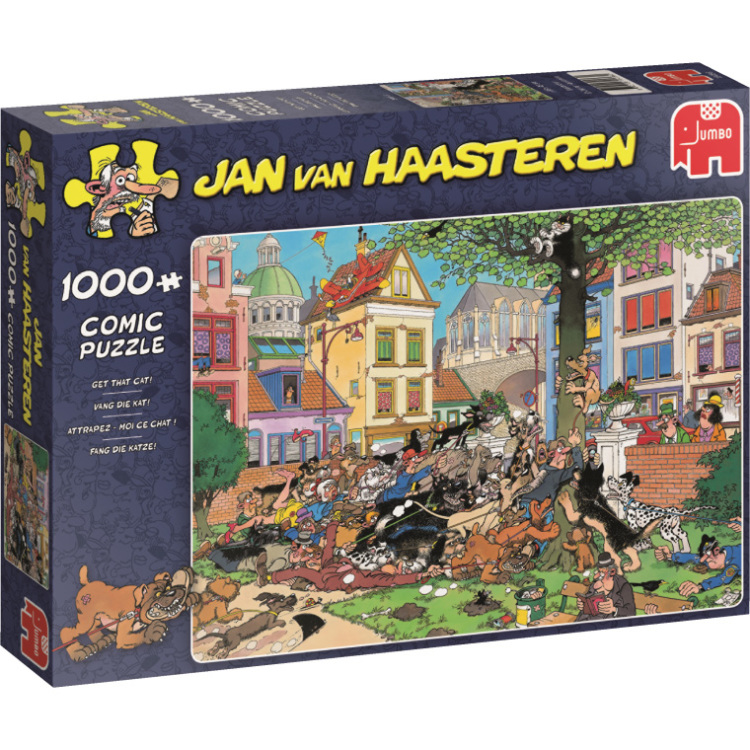 Puzzel Jvh: Get That Cat 1000 Stukjes Per stuk