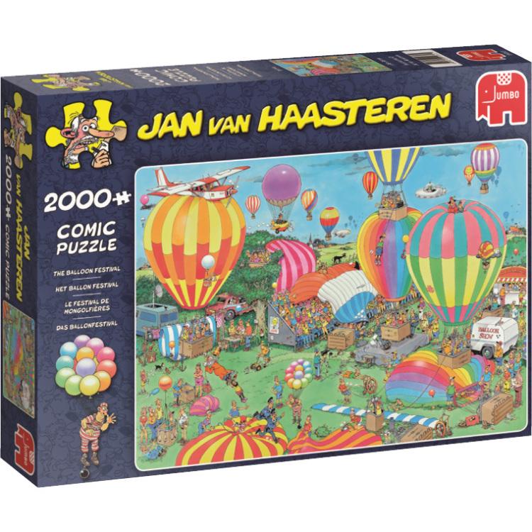 Jan van Haasteren Het Ballon Festival 2000 Stukjes