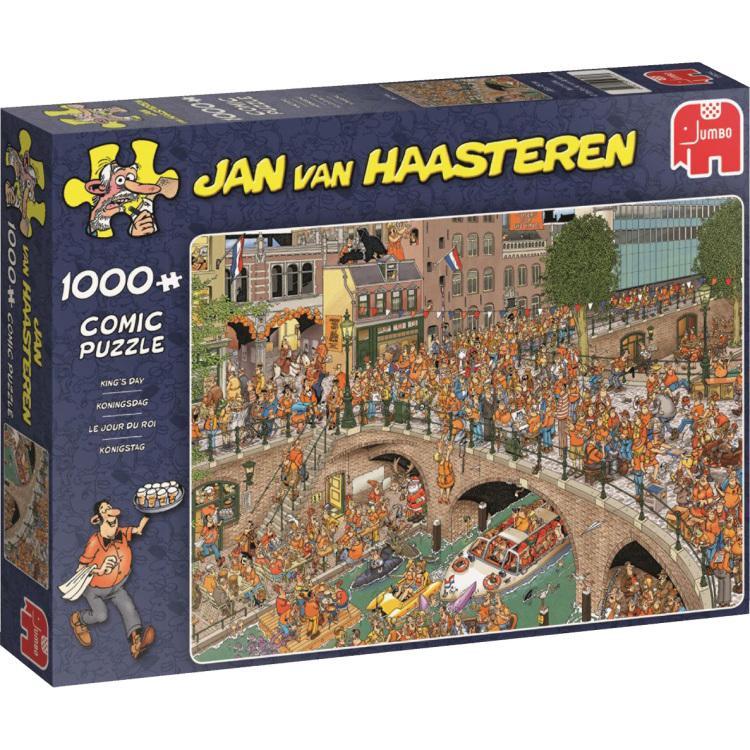 Jan van Haasteren Koningsdag Puzzel 1000 Stukjes