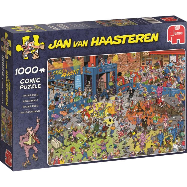 Jumbo Jan van Haasteren Rollerdisco 1000 stukjes