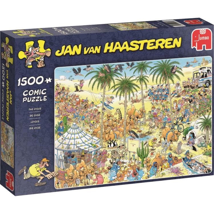 Jan van Haasteren The oasis Puzzel 1500 Stukjes