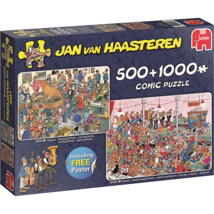 Puzzel Jvh: The Reception 500-1000 Stukjes Per stuk