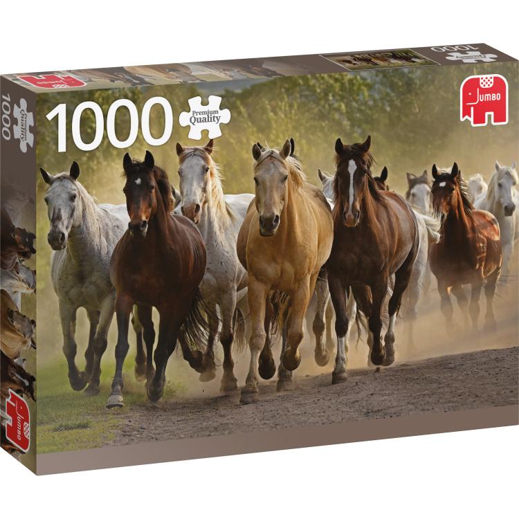 Team of Horses Puzzel 1000 Stukjes