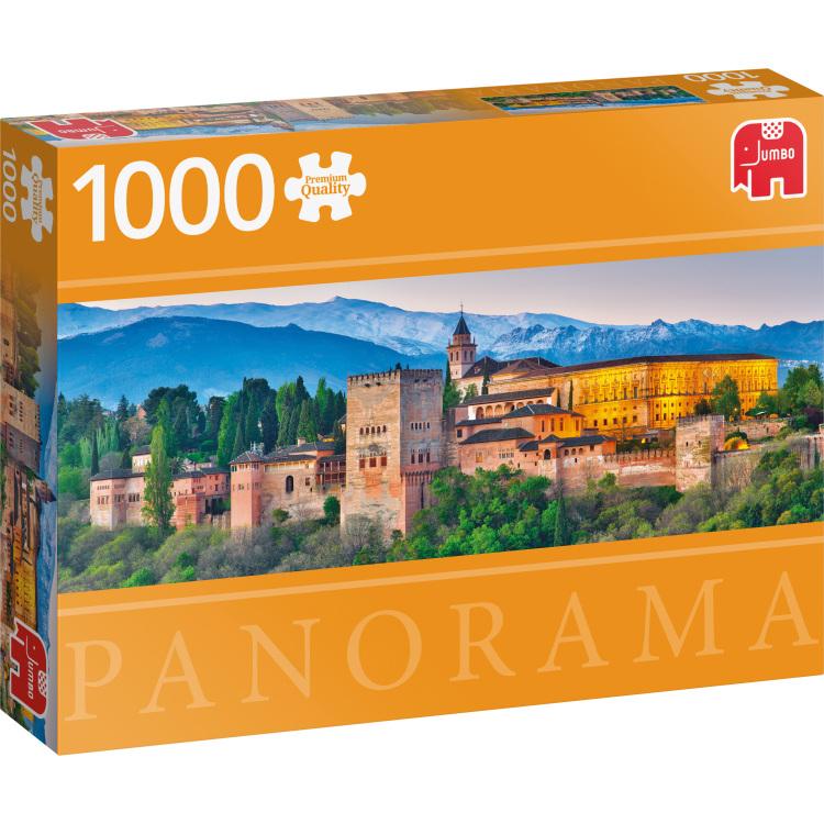Alhambra, Spanje panorama puzzel