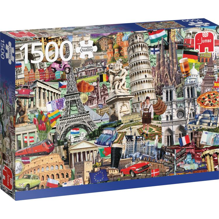 Best of... Europese steden puzzel