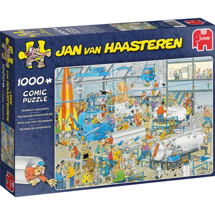 Jan van Haasteren Technische Hoogstandjes 1000