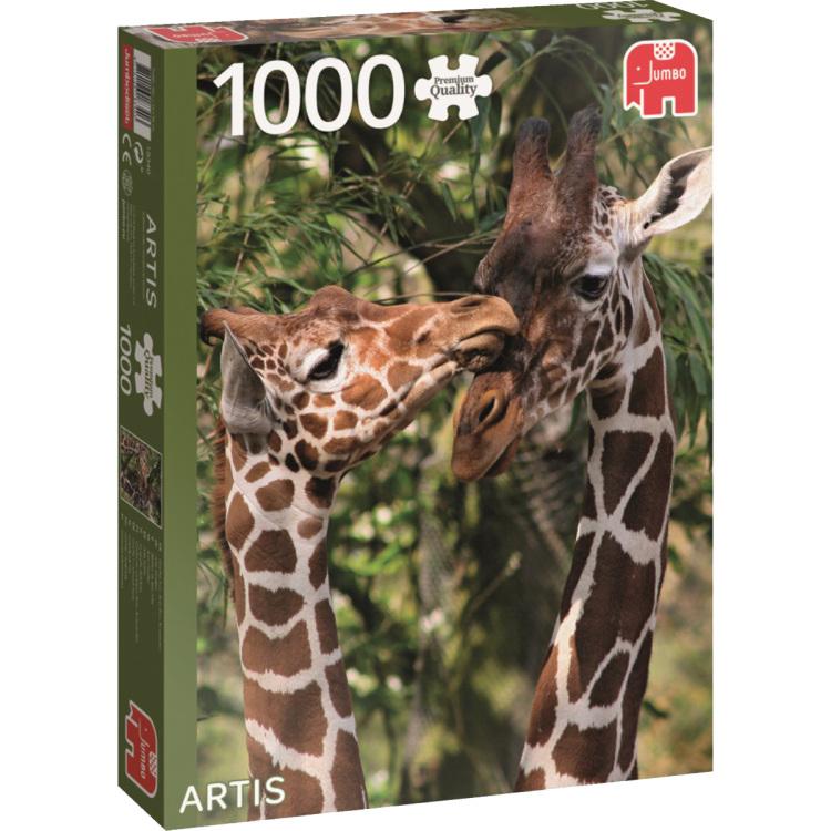 Speelgoed Jumbo Artis giraffen puzzel
