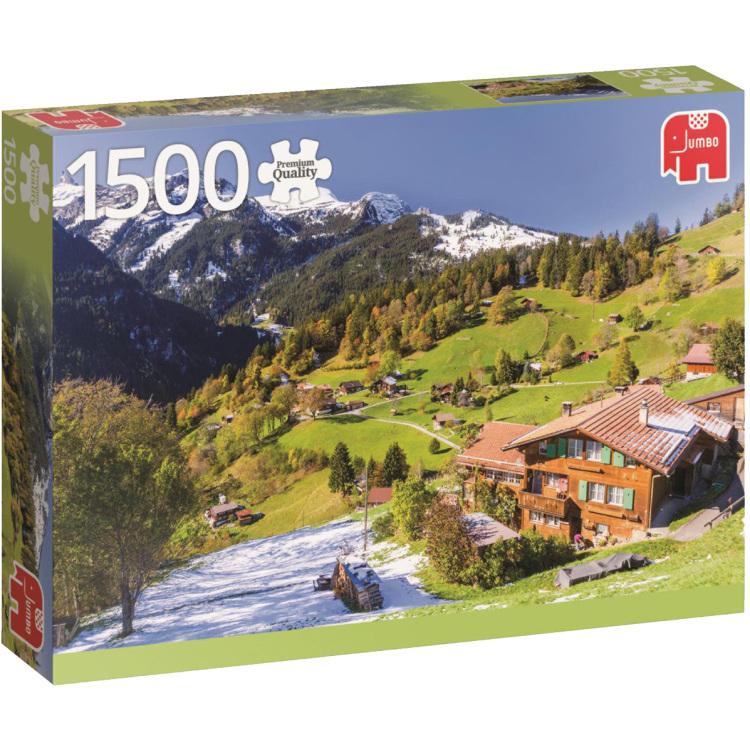 Berner Oberland, Zwitserland puzzel