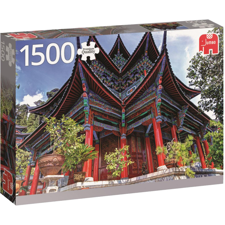 Chinese tempel puzzel