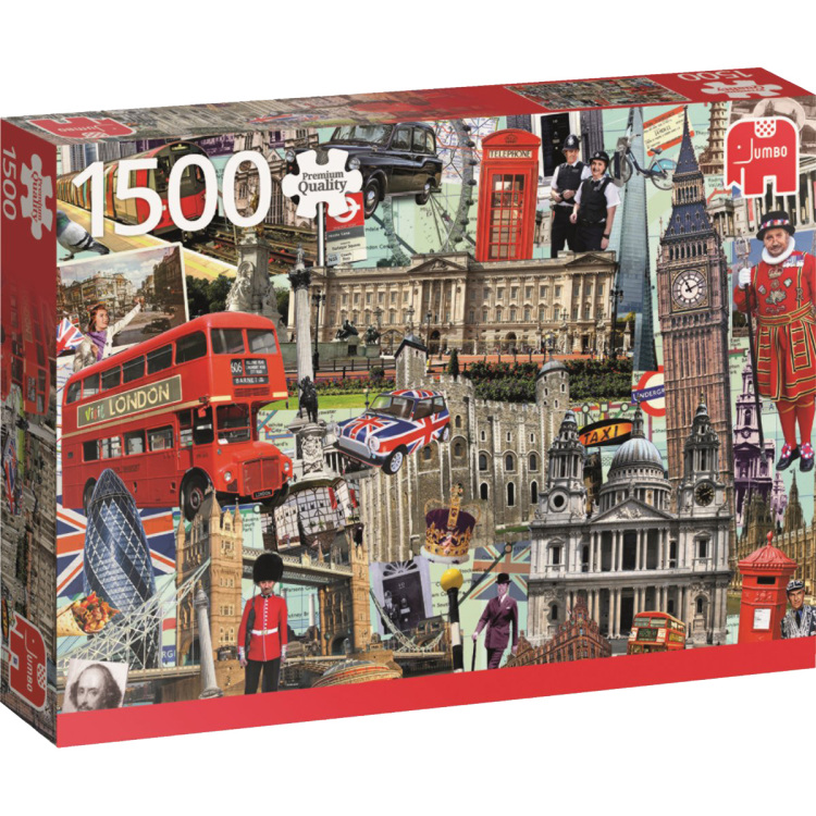 Best of London Puzzel 1500 stukjes