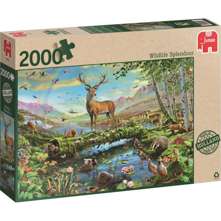 Speelgoed Jumbo Natuurpracht puzzel