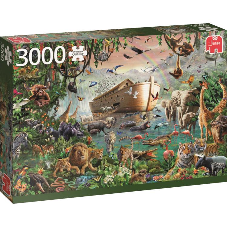 Ark van Noah - Puzzel - 3000 Stukjes