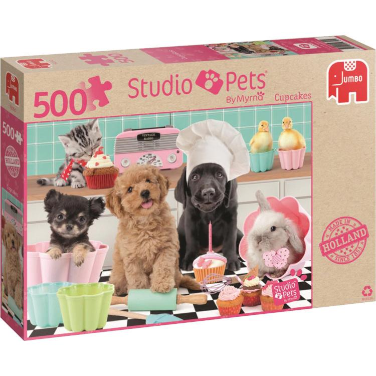 Studio Pets Cupcakes puzzel Jumbo Goedkoop