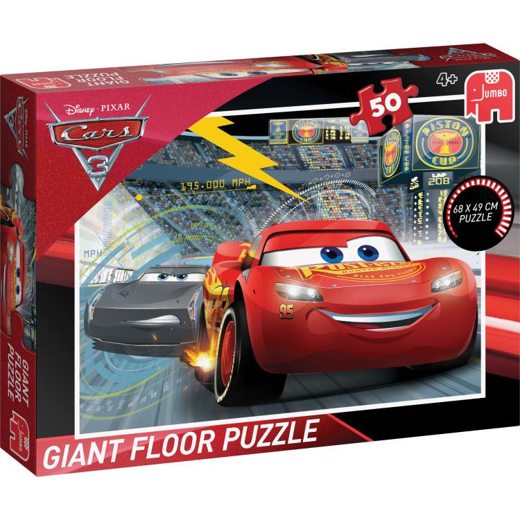 Disney Pixar Cars 2 Vloerpuzzel