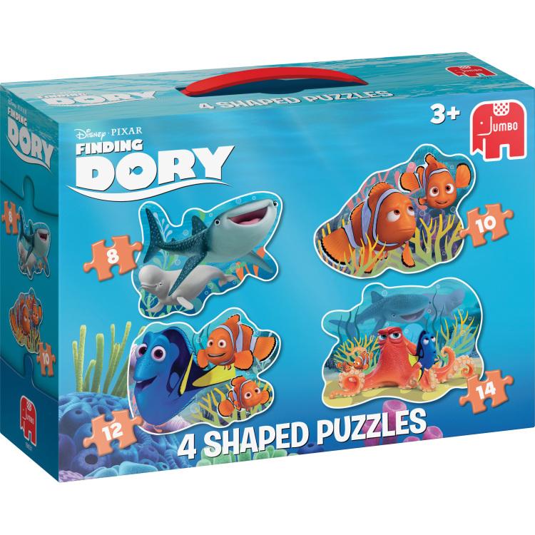 Disney Pixar Finding Dory 4in1 Vormpuzzels