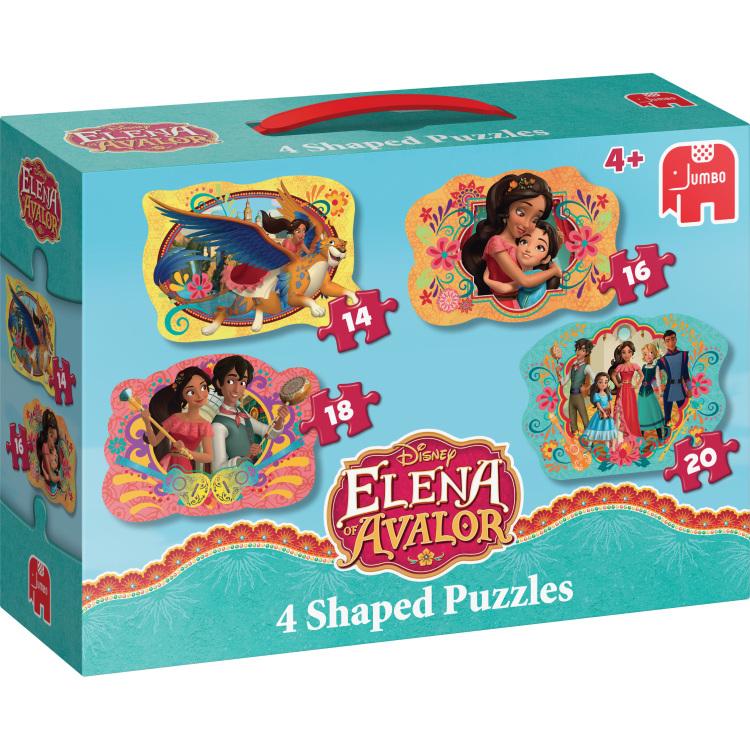 Disney Elena Van Avalor 4in1 Vormpuzzels