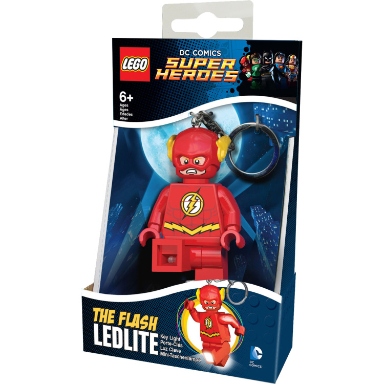 DC Comics Super Heroes - Flash sleutellampje
