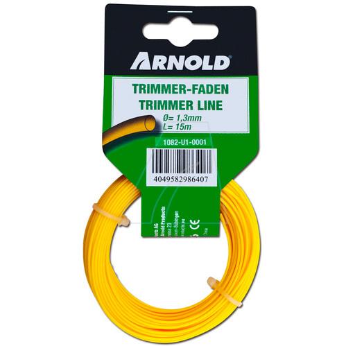 Arnold Trimmerdraad (1082-U1-0001) 15 meter, 1,3mm, rond