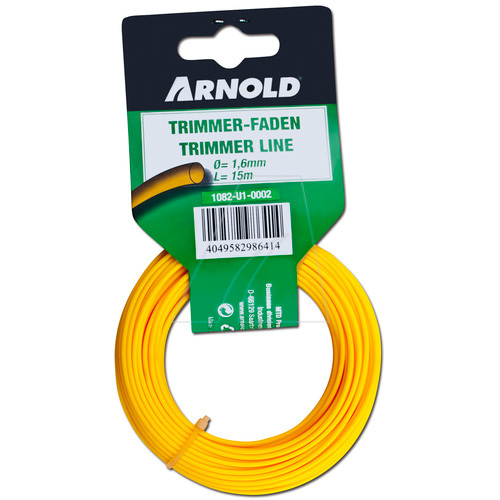 Arnold Trimmerdraad (1082-U1-0002) grastrimmer draad 15 meter, 1,6mm, rond