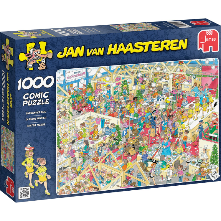 Jan van Haasteren The Winter Fair -