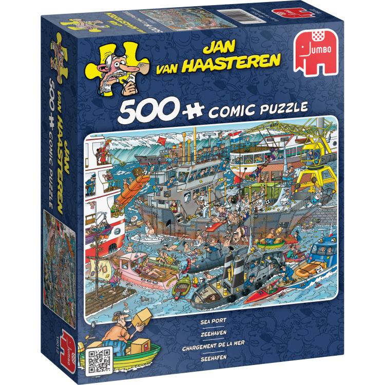 500 Stuks Puzzel Jvh Zeehaven