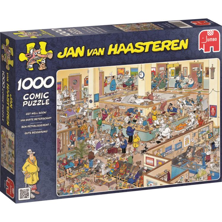 Jan van Haasteren Van harte beterschap puzzel Jumbo Speelgoed