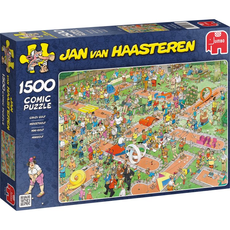 Jan van Haasteren: Midgetgolf puzzel