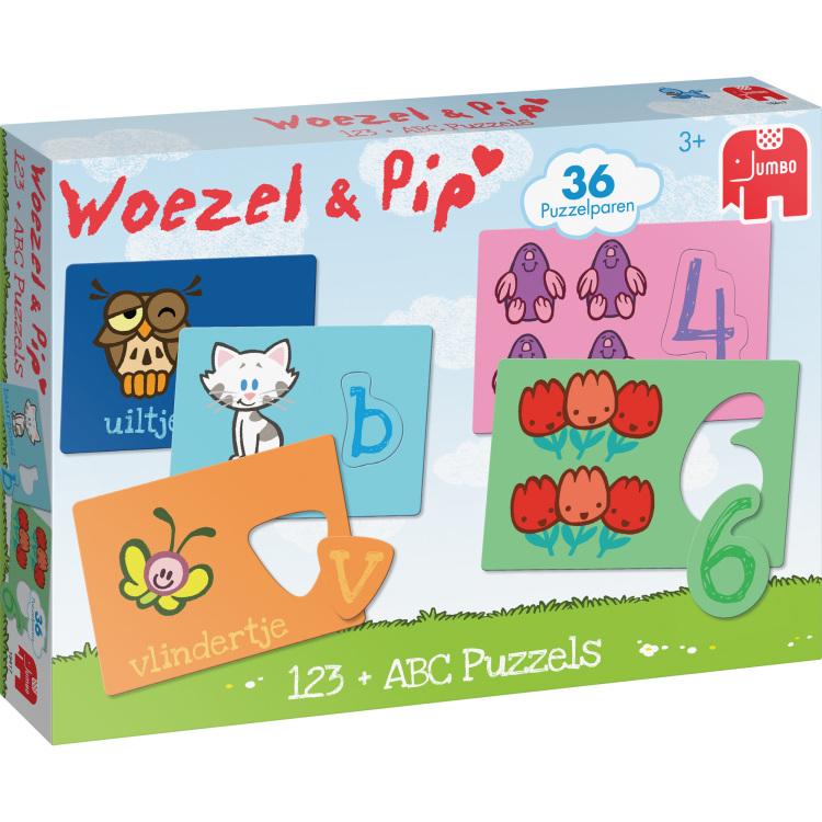 Jumbo Woezel & Pip ABC +123
