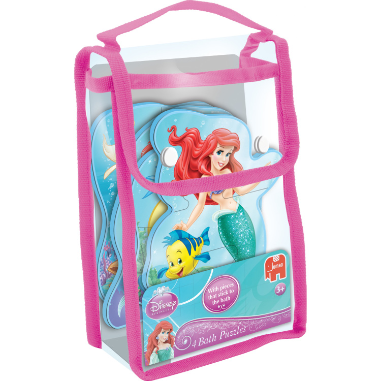 Disney Princess Ariel 4in1 Badpuzzels