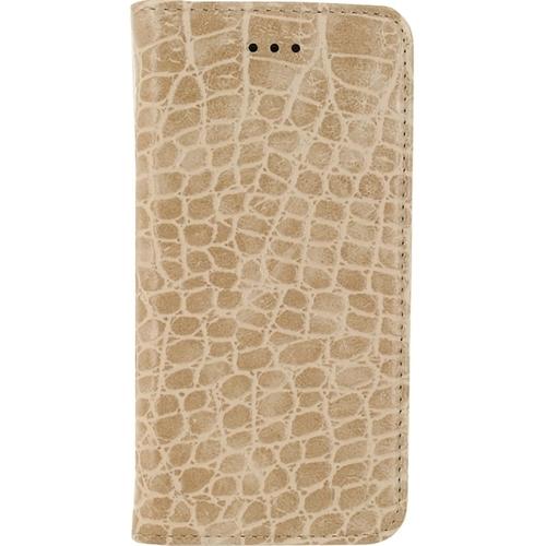 Mobilize Premium Gelly Alligator Apple iPhone 5-5S-SE Book Case Bruin