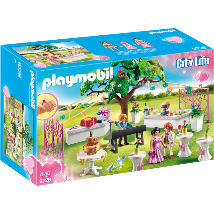 Bruiloftsfeest Playmobil (9228)