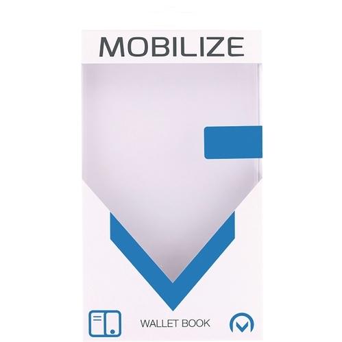 Mobilize Premium Gelly Samsung Galaxy S7 Edge Book Case Zwart