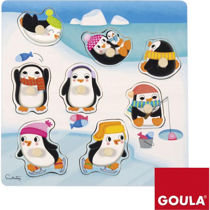 Goula Pingu?ns Noppenpuzzel