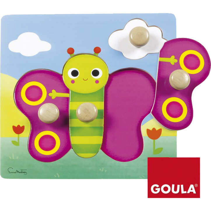 Goula Vlinder Noppenpuzzel
