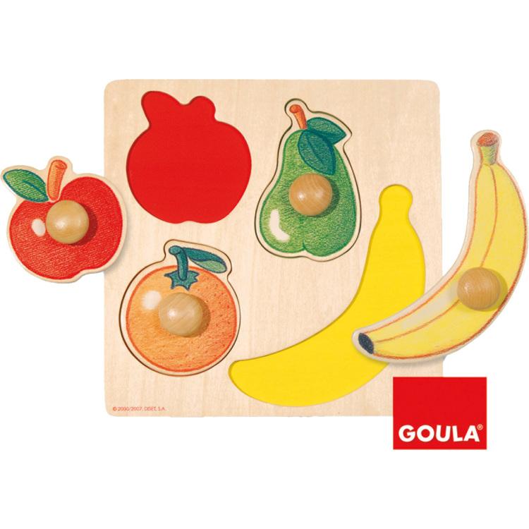 Goula Fruit Noppenpuzzel