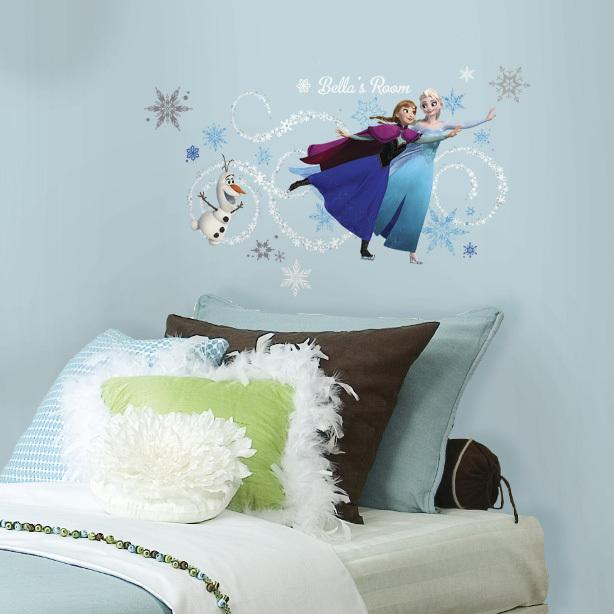 Disney - Frozen Headboard Wall Decals