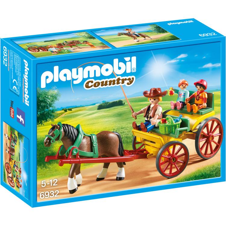 PLAYMOBIL Country - Paard en kar 6932