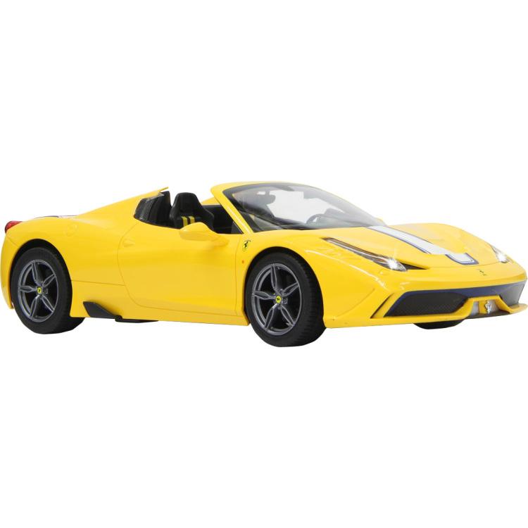 R-C Car Ferrari 458 Speciale A 1:14 Geel