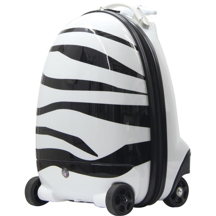 Productafbeelding voor 'RC Kinderkoffer Zebra'
