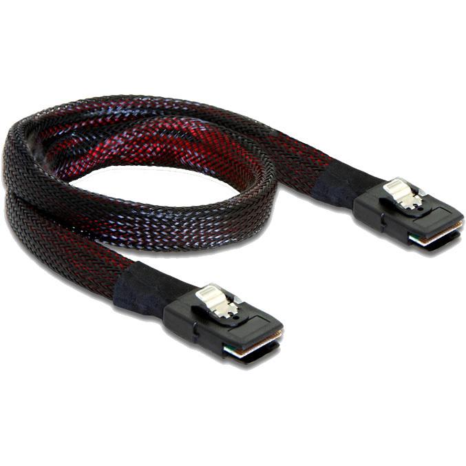 DeLOCK Mini SAS SFF-8087 > Mini SAS SFF-8087 kabel