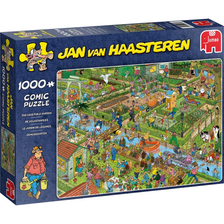 Alternate-Jumbo Jan van Haasteren - De volkstuintjes puzzel 1000 stukjes-aanbieding